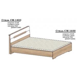 Ліжко Стиль СМ-1400