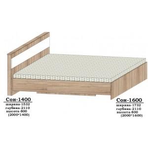 Ліжко Сон-1400