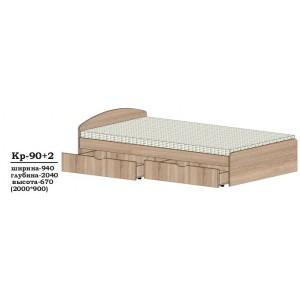 Ліжко КР 90 + 2
