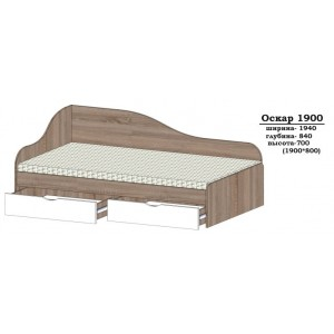 Ліжко Оскар -1900
